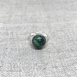 Jade Dark Green Bracelet 10mm gemstone beads
