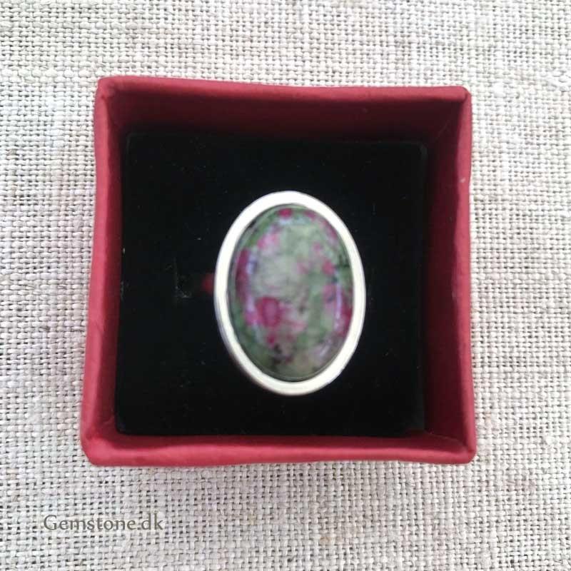 Flourit krystalsten chips til smykker 40cm streng