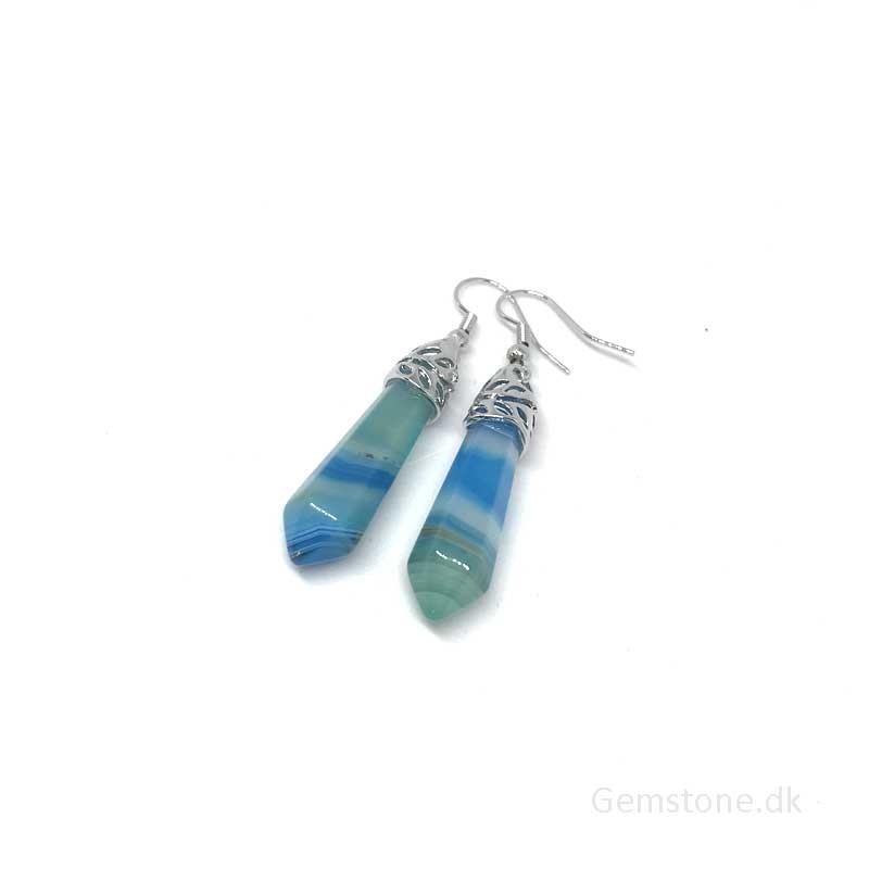 Lapis Lazuli ædelsten chips 40cm streng til smykker