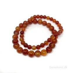 Jade Grøn & Rhinesten armbånd 8mm jadeperler