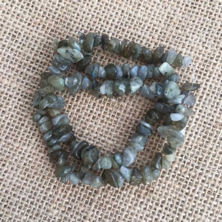 Labradorite Gemstone Chips 1 Strand DIY jewelry