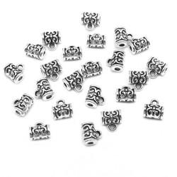 Opal Opalite Earrings Silver Plated