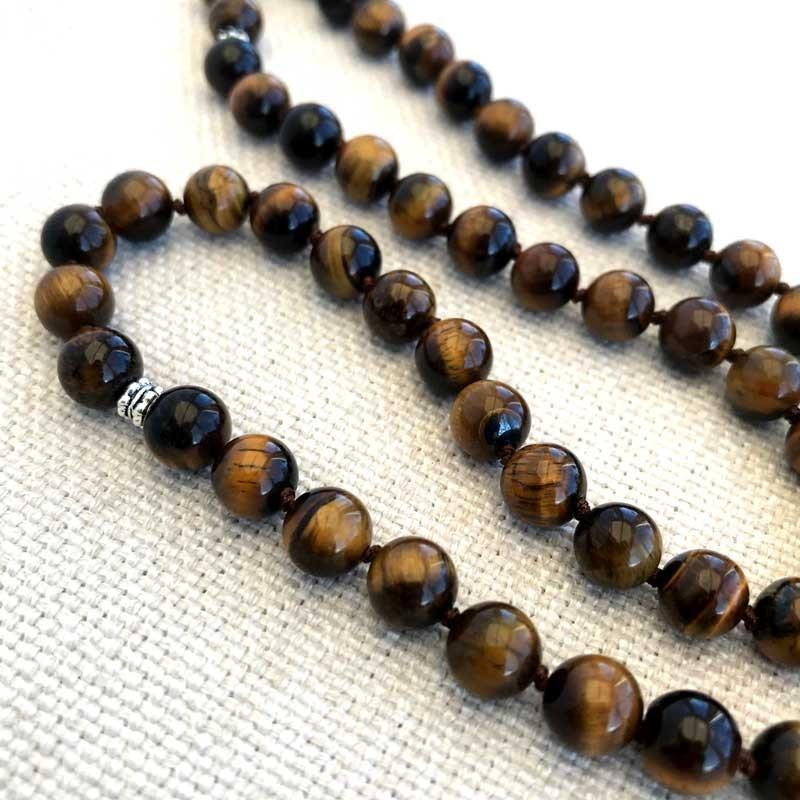 Mookait Jaspis halskæde naturlig sten chips