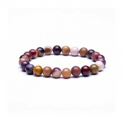Mookaite Bracelet 8mm gemstone beads
