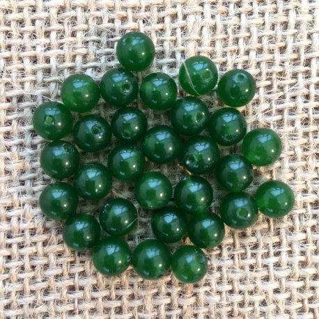 Jade Green Gemstone Beads