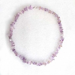 Ametrine Necklace Natural Crystal Stone Chips