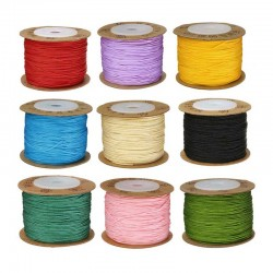 Wax Cord 0.8mm Waxed Thread DIY Bracelet Jewelry making