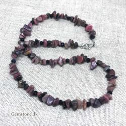 Chakra armbånd sort Lavasten 7 Chakra Healende sten køb yoga smykker
