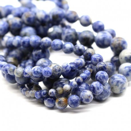 Sodalite Beads Natural Stone 6mm 8mm 10mm DIY Jewellery