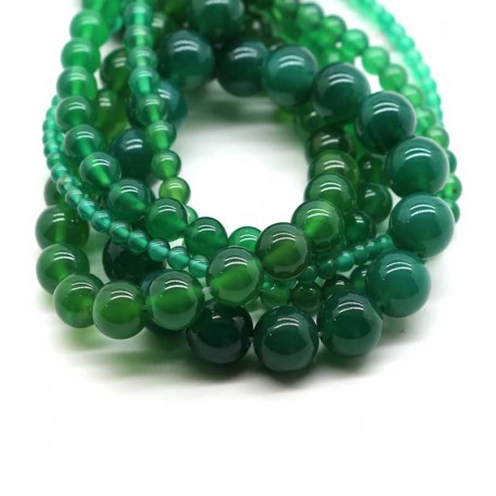 Beads Jade Green Gemstone DIY Jewelry making