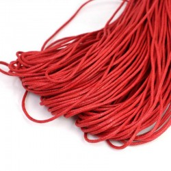 Red Wax Cord 1.5mm Waxed Thread Bracelet Necklace making