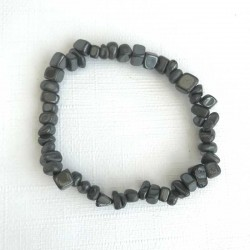 Blodsten armbånd Natural Hematite Gemstone Chips
