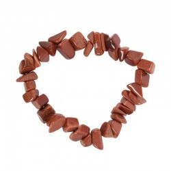 Goldstone Bracelet Gemstone Chips