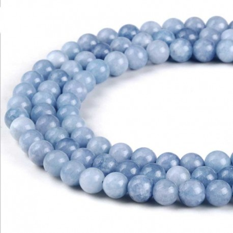 Angelite Gemstone Beads