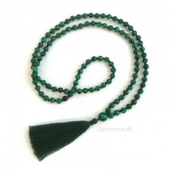 Mala 108 Malachite Beads Prayer Necklace