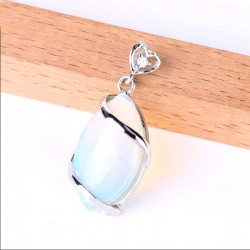 Opal Eye Pendant for Necklace