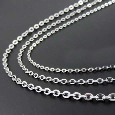 Chain Stainless Steel 2mm Necklace 60cm