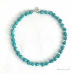 Turquoise Necklace Irregular Stone Beads