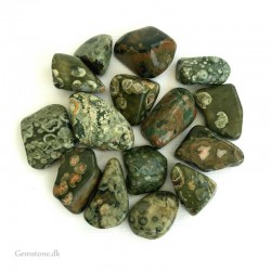Green Rainforest Jasper Natural Tumbled Stone