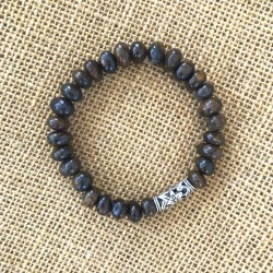 Mens Bracelet Bronzite Gemstone 8-10mm