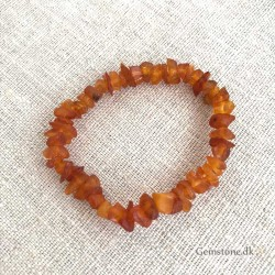 Amber Bracelet Natural Unpolished Amber Chips 6-9mm