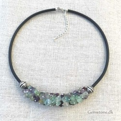 Fluorite Choker Necklace