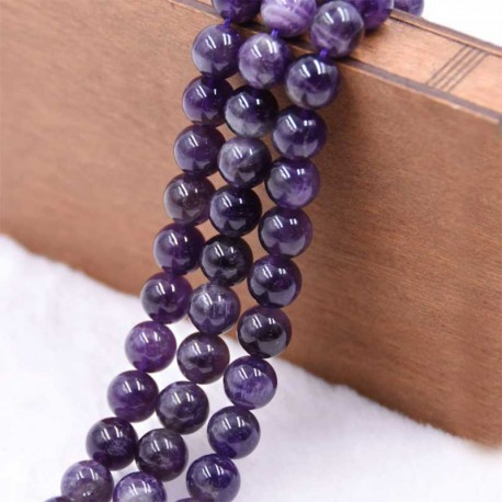 Amethyst Beads 6-8mm Natural Crystal