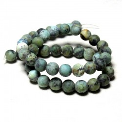 African Turquoise Beads 6-8mm Natural Stone