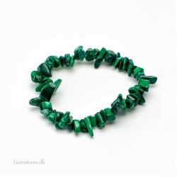 Malachite Gemstone Chips Bracelet Handmade