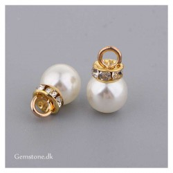 Pendant Imitation Pearl / Rhinestone Charms DIY Jewelry