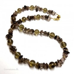 Necklace Smoky Quartz Crystal Gemstone