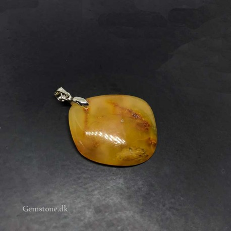 Amber Pendant for Necklace Natural Baltic Amber