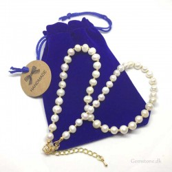 Pearl Necklace White Freshwater Pearl 7-8mm