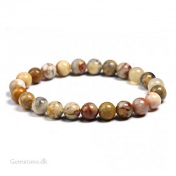 Bracelet Agate Crazy Natural Stone Beads