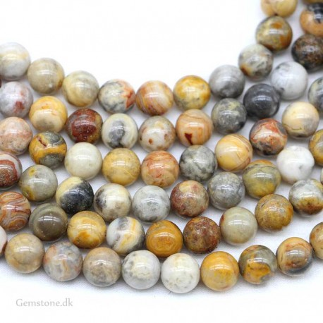 Agate Crazy Lace Beads Natural Stone
