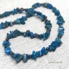 Necklace Apatite / Hematite Natural Stone