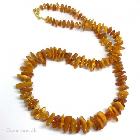 Amber Necklace Natural Honey Baltic Amber
