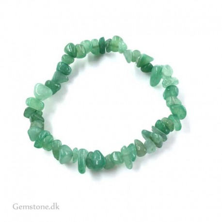 Aventurine Green Gemstone Chips Bracelet