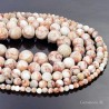 Jasper Breccia Beads Natural Stone