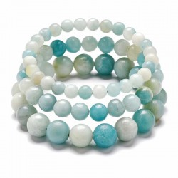 Amazonite Gemstone Bracelet natural Stone