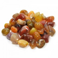 Karneol poleret sten Natural Carnelian Gemstone