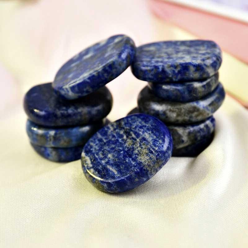 Nefrit Jade ædelsten poleret Natural Tumbled Nephrite