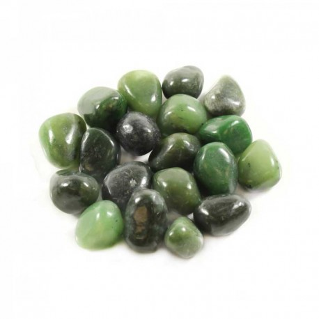 Nephrite Jade Natural Tumbled Gemstone