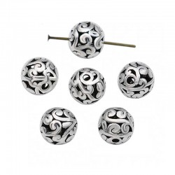 Spacer Tibetan Silver Beads 8mm DIY Jewelry