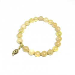 Citrine Bracelet Natural Crystal Quartz Stone