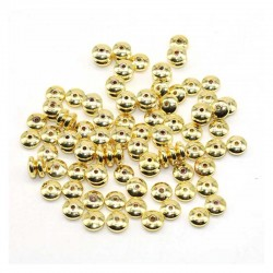 Spacer Beads Golden Hematite Disc DIY Jewelry