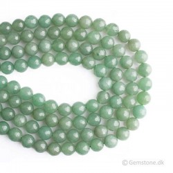 Aventurine Green Beads Faceted Natural Stone 4mm