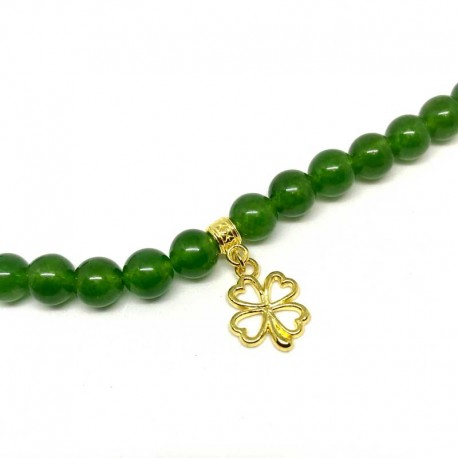 Clover Charms Gold Color DIY Jewelry
