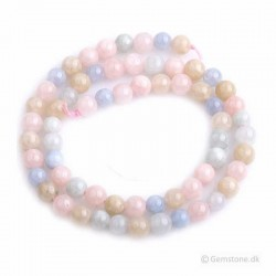 Morganit sten perler til smykker Natural Morganite Beads
