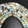 Amazonite Beads Rondelle 8x5mm Natural Stone